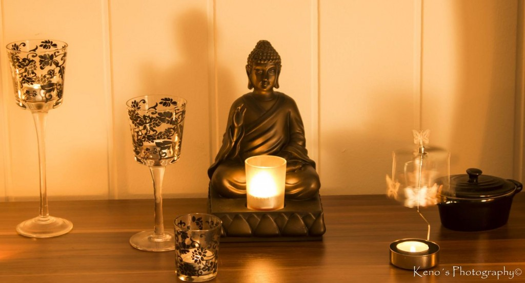 Buddah erleuchtet